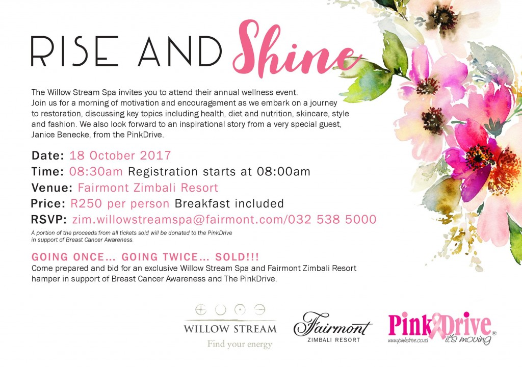 Willow Stream Spa Wellness Event 2017